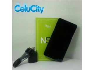 "Celular Nuu N5L Android5.1  5.5""HD Nuevo , CELUCITY Puerto Rico"