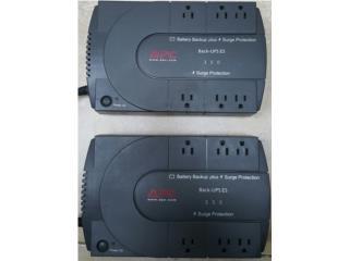 2 Battery Backup Plus APC, Quality Sales PR Puerto Rico
