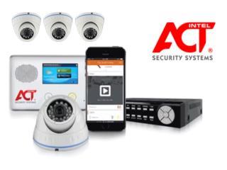 $0 CARGOS POR SISTEMA DE CAMARAS HD Y ALARMA , intelACT Security Systems Puerto Rico