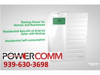 Sistemas de energia solar Off Grid, PowerComm, Inc 7878983434 Puerto Rico