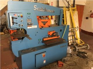Iron Worker Scochman 90 Tons, Steel Solution, LLC Puerto Rico