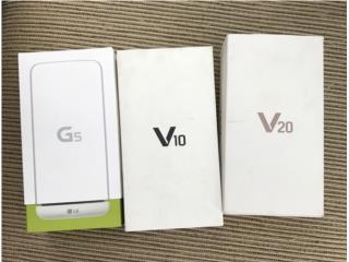 LG  G6 o v30  SIN USAR DE CLARO leer, W-I Celulares & Best Cover PR Puerto Rico