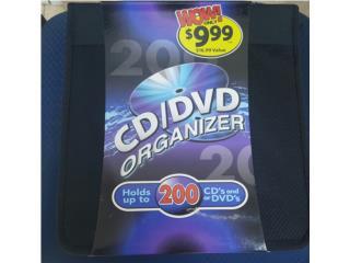 Organizador de CD/DVD hasta 200 NUEVO!!! , Quality Sales PR Puerto Rico