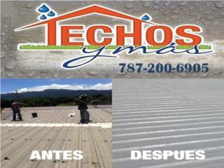 FIBERGLASS LO MEJOR (lifetime warranty), TECHOS Y MAS  INC Puerto Rico