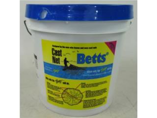 Tarralla Betts Camoflaje 3/8, The Tackle Box inc.   Puerto Rico