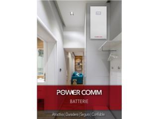 Energia con Baterias y Plantas de Emergencia, PowerComm, Inc 7878983434 Puerto Rico