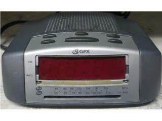 Radio reloj despertador GPX, Quality Sales PR Puerto Rico
