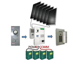 Planta Solar A tu Necesidad, PowerComm, Inc 7878983434 Puerto Rico