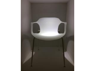moderna Silla Blanca rest. y oficina, AN OFFICE DESIGN Puerto Rico