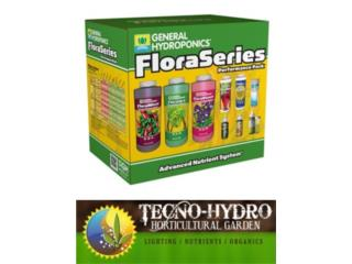 FLORA SERIES PACK GENERAL HYDROPONICS, TECNO-HYDRO Puerto Rico