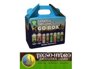 GO BOX GENERAL ORGANICS, TECNO-HYDRO Puerto Rico