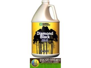 DIAMOND BLACK 0-0-1 GENERAL ORGANICS, TECNO-HYDRO Puerto Rico