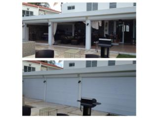Roll up Shutters desde $35.00 pie cuadrado, SHUTTERS AND ALUMINUM Puerto Rico