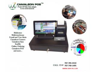 Camaleon para Restaurante,Cafeteria,Pubs....., Super Business Machines Puerto Rico