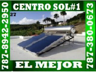 VEA NUESTRAS CERTIFICACIONES PULSE AQUI, CENTRO SOL #1 787-894-2950 CALENTAD. CERTIFICADOS Puerto Rico