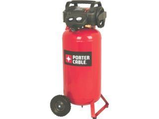 Porter Cable 17 gallon 150psi compresor aire, Cashex Puerto Rico