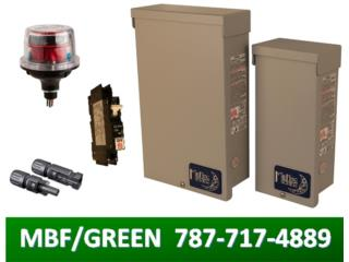 PV COMBINER, BREAKERS, MC4, SURGE PROTECTOR, MULTI BATTERIES & FORKLIFT, CORP. Puerto Rico