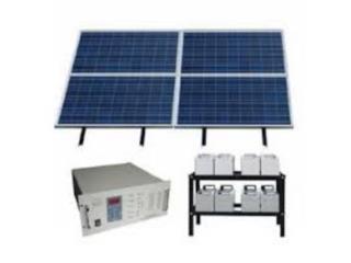 Planta de Emergencia con Paneles Solares, Hormigueros Refrigeration & Power Puerto Rico
