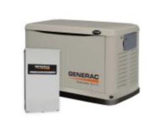 Plantas Generac Uso Residencial/Propane Fuel, HR&PG, LLC Puerto Rico
