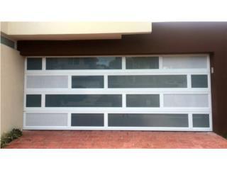 Puerta Garaje Aluminio Heavy 17 x 7 Instalada, MG Inter / Space Designs Puerto Rico