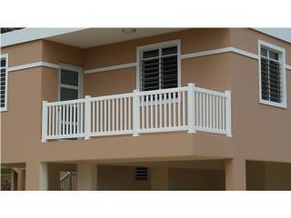 Baranda PVC Modelo: Picket Style, Pro Fence Puerto Rico