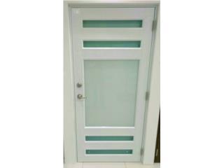 Puerta Aluminio Regular Diseño Especial 32x96, MG Inter / Space Designs Puerto Rico