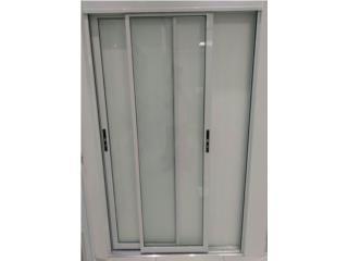 Sliding Door Regular Dos Hojas 60x96, MG Inter / Space Designs Puerto Rico