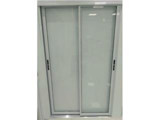 Sliding Door Regular Dos Hojas 72x96, MG Inter / Space Designs Puerto Rico