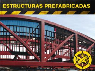 ESTRUCTURAS PREFABRICADAS, Steel and Pipes Puerto Rico