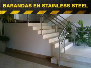 BARANDAS EN S/S ESTIMADO GRATIS AREA NORTE , Steel and Pipes Puerto Rico