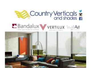 Variedad exterior y interior / Vea el VIDEO, COUNTRY VERTCALS & SHADES Puerto Rico
