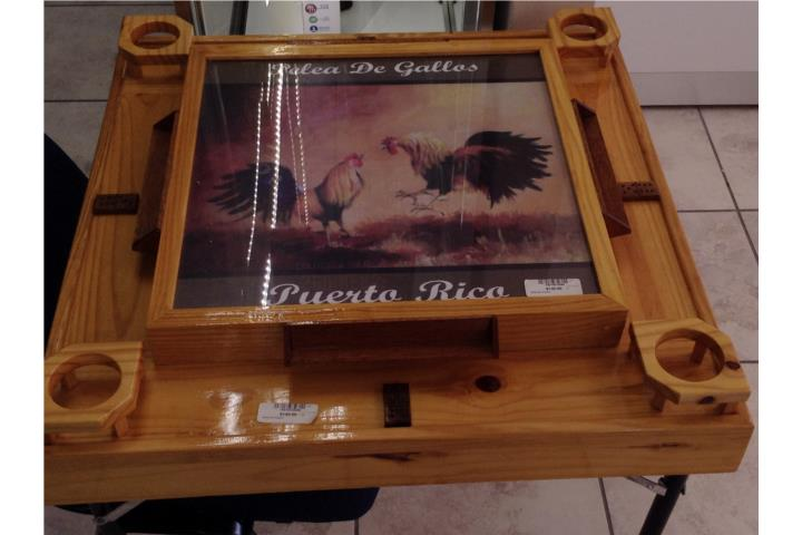 Mesa de domino puerto rico for Puerto rico juego de mesa