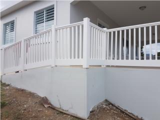 Verja PVC, S.I.M. Fence Installation Puerto Rico