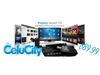 VIAPLAY SMART  TV, CELUCITY Puerto Rico