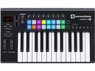 Novation NOVATION LAUNCHKEY 25 KEYBOARD CONTR, STEVAN MICHEO MUSIC Puerto Rico