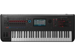 Yamaha MONTAGE 6 61-KEY WORKSTATION SYNTH, STEVAN MICHEO MUSIC Puerto Rico