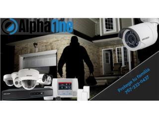 San Juan-Río Piedras Puerto Rico Equipo Comercial, Alarma inteligente 4 cámaras Hikvision 1080HD