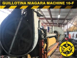 Guillotina Niagara Machine Tool Work 10-f, Steel and Pipes Puerto Rico