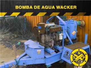 Bomba de Agua: Wacker 2007, Steel and Pipes Puerto Rico