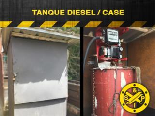 Tanque Diesel con case incluido, Steel and Pipes Puerto Rico