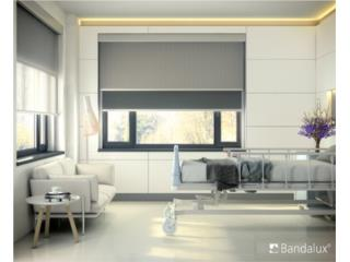 ROLLER SHADES DOBLES! BANDALUX!, COUNTRY VERTCALS & SHADES Puerto Rico