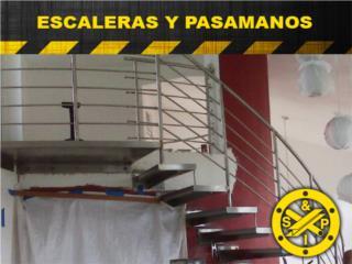VARIEDAD EN ESCALERAS Y MATERIALES, Steel and Pipes Puerto Rico