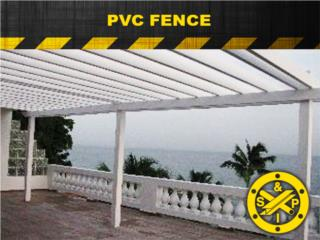PVC FENCE , Steel and Pipes Puerto Rico