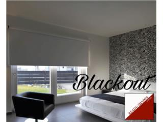 Roll Up BLACKOUT 60X60 50%, READY SHADES Puerto Rico