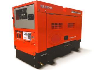 GEN KUBOTA MODELO GL14000 (12.0KW MAX ), CF GENERATOR SALE & SUPPLY CORP. Puerto Rico