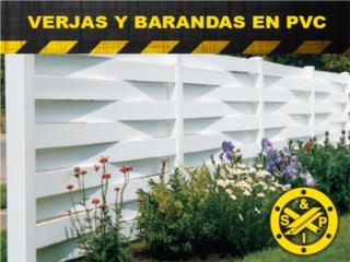 VERJAS PVC     , Steel and Pipes Puerto Rico