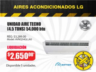 UNIDAD AIRE TECHO (4.5 TONS) 54,000 btu , Steel and Pipes Puerto Rico