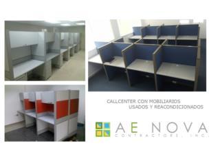 MOBILIARIO PARA CALLCENTER, A E NOVA Contractors Puerto Rico
