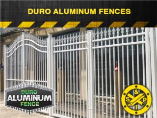 Verjas: Duro Aluminum Fence, Steel and Pipes Puerto Rico