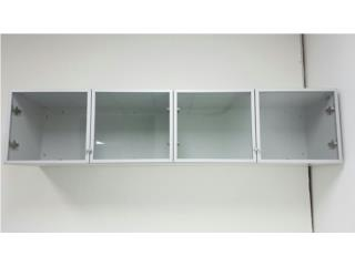 Over head Cabinet Glass, ModuFit, Inc. Puerto Rico
